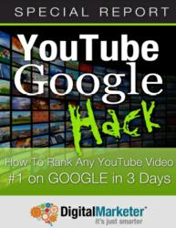 &quot;YouTube Google Hack&quot; eBook DigitalMarketer.com